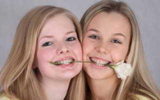 Красивые девочки с брекетами