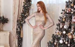 Вечерние платья на новый год