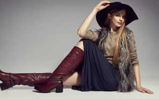 Зимняя обувь женская в моде