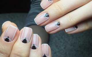 Узоры для ногтей в домашних условиях