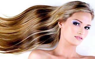 Осветление прядей у лица на темных волосах