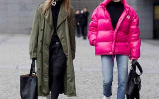 Обувь под длинную куртку