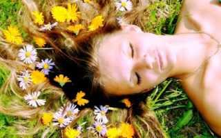 Какие травы от выпадения волос