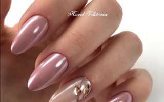 Дизайн ногтей затирка