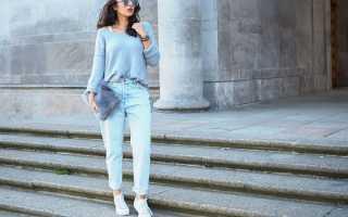 Какую зимнюю обувь носить с джинсами