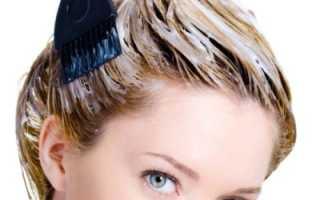 Мелирование и тонирование волос