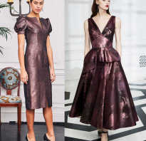 Самые лучшие платья на новый год