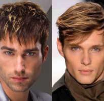 Русые волосы мужчины