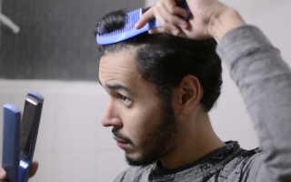 Мусс для выпрямления волос