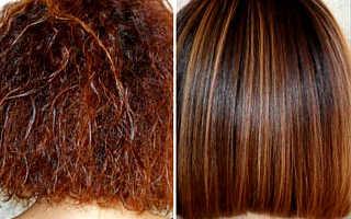 Кератиновое ламинирование волос в домашних условиях