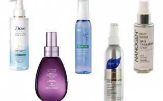 Средства для прикорневого объема волос