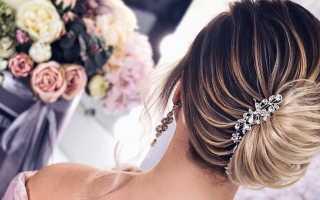 Укладка волос ракушка