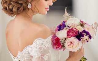 Фото свадебных причесок на длинные волосы