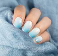 Маникюр на коротких круглых ногтях
