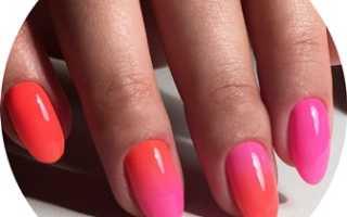 Дизайн ногтей белое амбре
