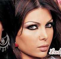 Макияж арабских девушек