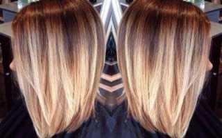 Мелирование на волосы до плеч