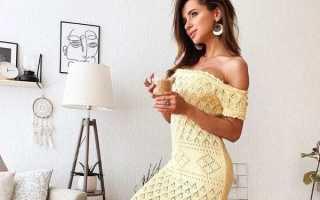 Вязаные платья фото новинки
