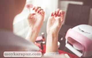 Нарощенные ногти при беременности