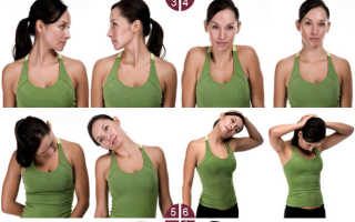 Упражнения для шеи и плеч при остеохондрозе