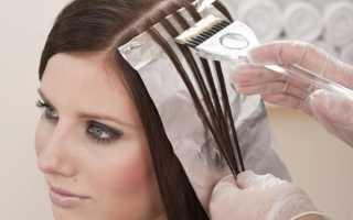 Мелирование на русый цвет волос