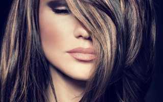 Мелирование на длинные волосы фото с челкой