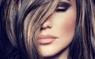 Колорирование волос на черные волосы