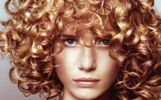 Фото биозавивки на средние волосы
