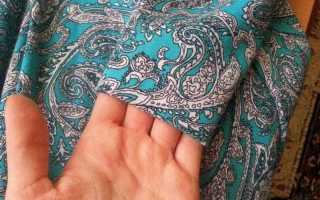 Как укоротить трикотажное платье своими руками