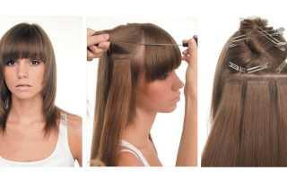 Ленточное наращивание волос в домашних условиях