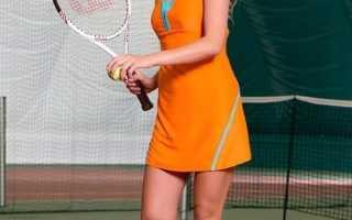 Модели спортивных платьев