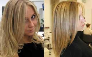 Мелкое мелирование на темно русые волосы