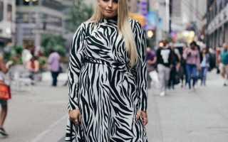Модели платья для полных женщин фото