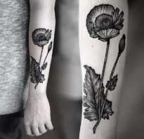 Татуировки на руке женские