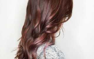 Цвет волос горький шоколад с пепельным оттенком