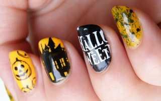 Слайдеры на ногтях фото