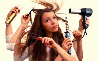 Народные средства для объема волос