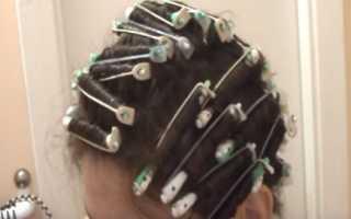 Химическая завивка волос видео