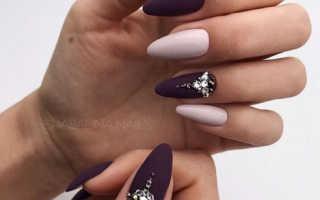 Дизайн ногтей миндалевидной формы
