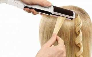 Утюжок для волос кудри