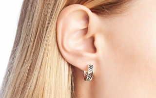 Сережки на ухо