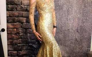 Вечерние платья на новый год фото