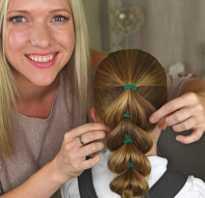 Легкие прически для девочек с длинными волосами