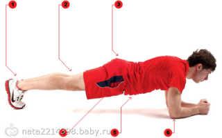 Упражнение планка отзывы