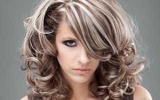 Тонировка мелированных волос эстель