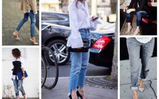 Обувь под джинсы для женщин фото