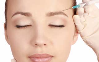Обкалывание лица гиалуроновой кислотой