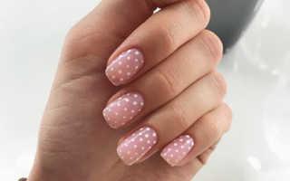 Дизайн ногтей с точками фото