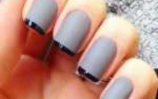 Дизайн волны на ногтях