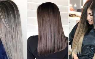 Окрашивание волос в технике шатуш
